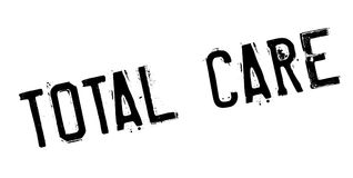 Total Care rubber stamp Stock Photo
