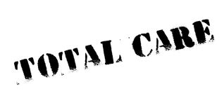 Total Care rubber stamp. Grunge design with dust scratches. Effects can be easily removed for a clean, crisp look. Color is easily changed Stock Photography