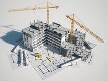 Total del proyecto de la arquitectura libre illustration