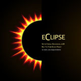 Total eclipse of the sun Royalty Free Stock Photography