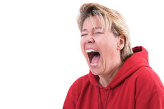 Total frustration Royalty Free Stock Photos