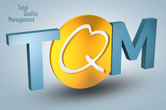 Total Quality Management Stock Photography