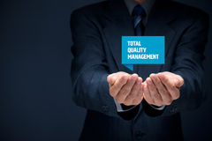 Total quality management Stock Photo