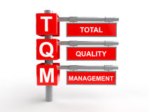 Total quality management Royalty Free Stock Photos