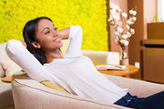 Total relaxation. Royalty Free Stock Photography