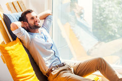 Total relaxation. Stock Photos