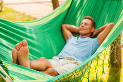 Total relaxation. Stock Images