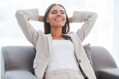Total relaxation. Royalty Free Stock Images