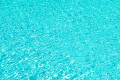Total relaxation. swimming pool rippled water. sea water background. blue water waves. malibu beach life. underwater. Ocean. miami paradise resort. summer royalty free stock photo