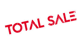 Total Sale rubber stamp Stock Photos