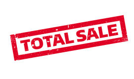 Total Sale rubber stamp Stock Photography