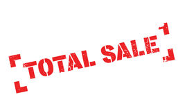 Total Sale rubber stamp Royalty Free Stock Photography