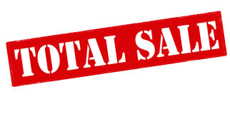 Total sale Royalty Free Stock Images