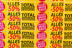 Total sales Stock Images