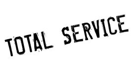 Total Service rubber stamp Royalty Free Stock Image
