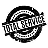 Total Service rubber stamp Stock Photography