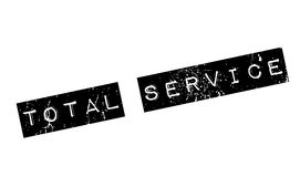 Total Service rubber stamp Stock Images