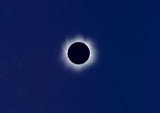 Total solar eclipse. 11 August 1999 Stock Images