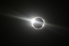Total Solar Eclipse in Novosibirsk Stock Photo