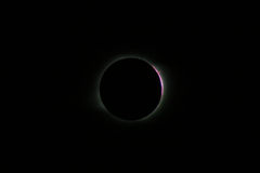 Total Solar Eclipse in Novosibirsk Royalty Free Stock Photos