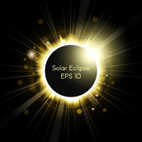 Total solar eclipse Royalty Free Stock Photos