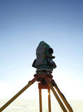 Total station Stock Images