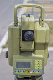Total station with digital display 4 Stock Images