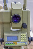 Total station with digital display 3 Stock Photo
