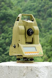Total station Stock Photography