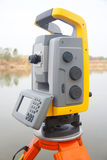 The total station Stock Photography