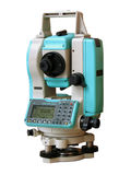 Total station nik1. Total station. The geodetic measuring tool stock images