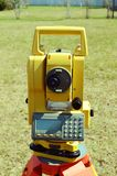 Total Station Surveying Equipment Stock Images