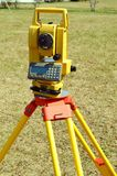 Total Station Surveying Equipment Stock Photo