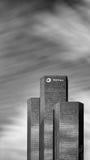 The Total Tower, La Défense, Paris Stock Photo