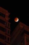Totale maanverduistering bij 2011.12.11 Royalty-vrije Stock Foto