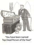 Tote Berühmtheiten stock abbildung