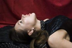 Tote hübsche Frau Lizenzfreie Stockfotografie