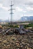 Tote Natur nahe Monchegorsk Lizenzfreies Stockfoto