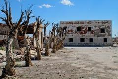 Tote Stadt in Argentinien Stockbild
