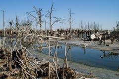 Tote Stadt in Argentinien Stockbilder