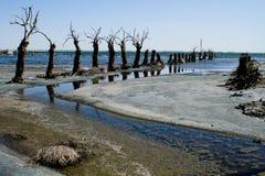 Tote Stadt in Argentinien Lizenzfreies Stockfoto