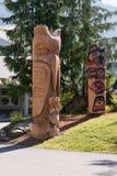 Totemów słupy Zdjęcie Stock
