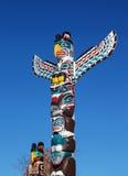 Totemów słupy Zdjęcie Royalty Free