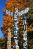Totemów słupy Fotografia Royalty Free