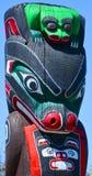 Totemów słupy Obrazy Stock