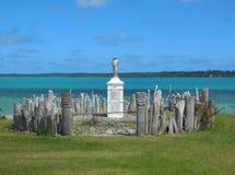 Totemów słupy osaczoni St Maurice Zdjęcie Royalty Free