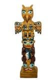 Totem изолированный на белой предпосылке Стоковые Изображения