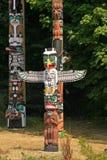 totem полюсов стоковые изображения rf