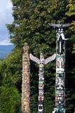 totem полюсов стоковые изображения