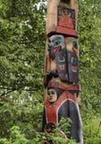 эскимосский totem полюса Стоковое Изображение